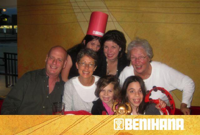 Benihana birthday 10 3 10