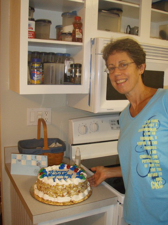 Joyce and rum cake 9 30 10