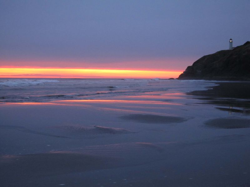 Cape disappointment sunset for web