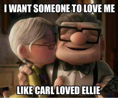 Carl loves ellie