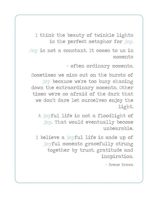 Brene brown twinkle quote